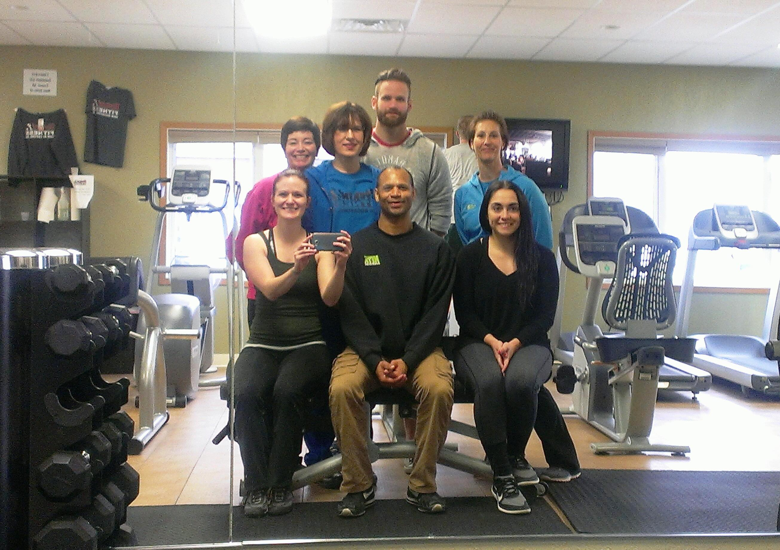 Six complete personal trainer certification workshop at rockin march 24th 2015 rockin fitness in new rockford hosted a personal trainer certification workshop by neta the non profit national exercise trainers 1betcityfo Image collections