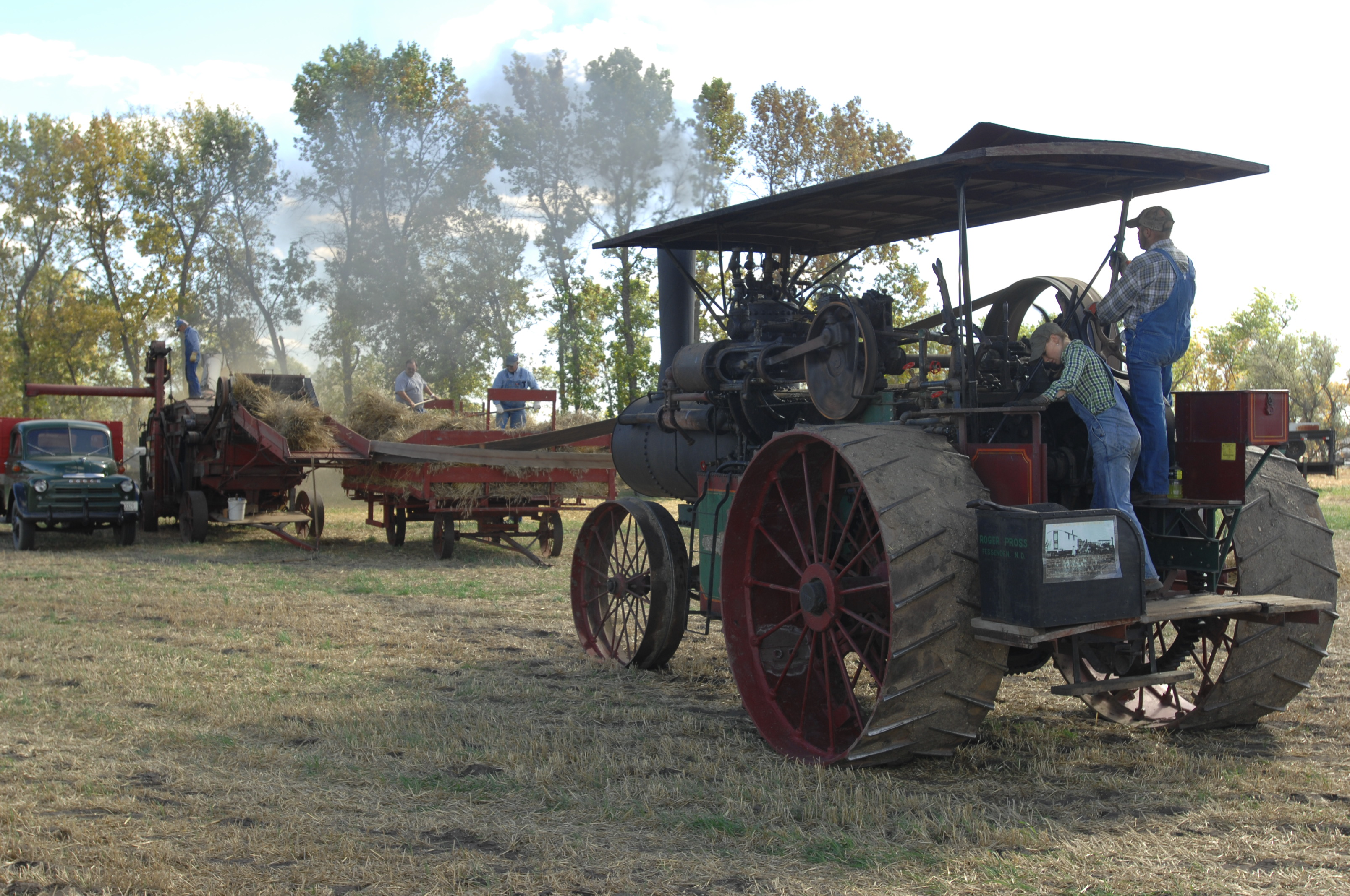 Central North Dakota Steam Thresher's Reunion - New Rockford, ND
